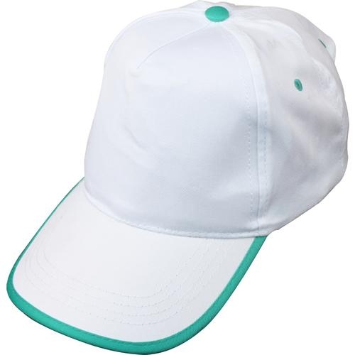 beyaz-yeşil-biyeli-şapka