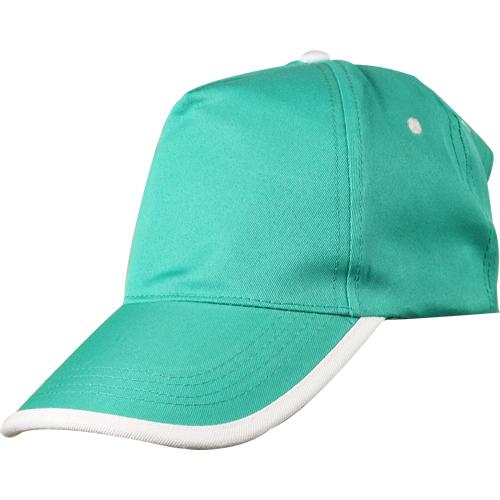 yeşil-beyaz-biyeli-şapka