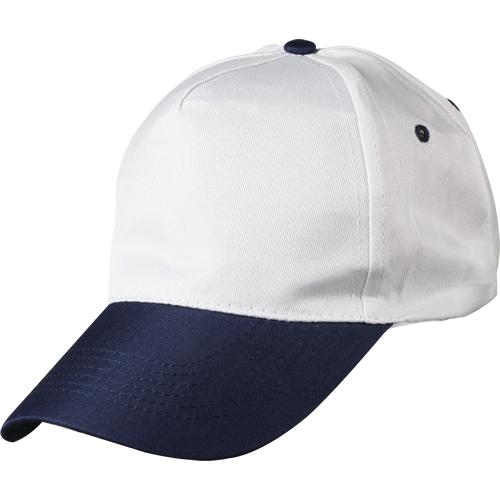 beyaz-lacivert-siperli-şapka