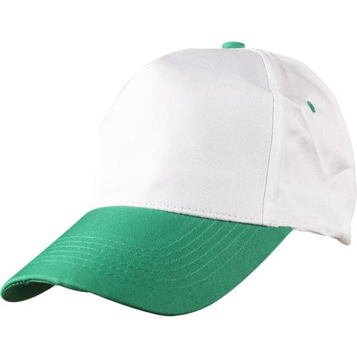beyaz-yeşil-siperli-şapka