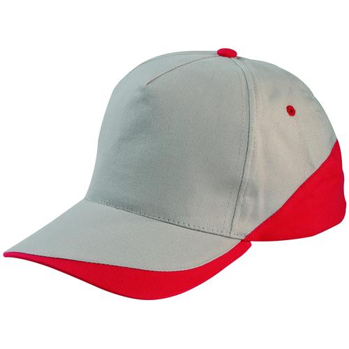 bej-kırmızı-parçalı-şapka