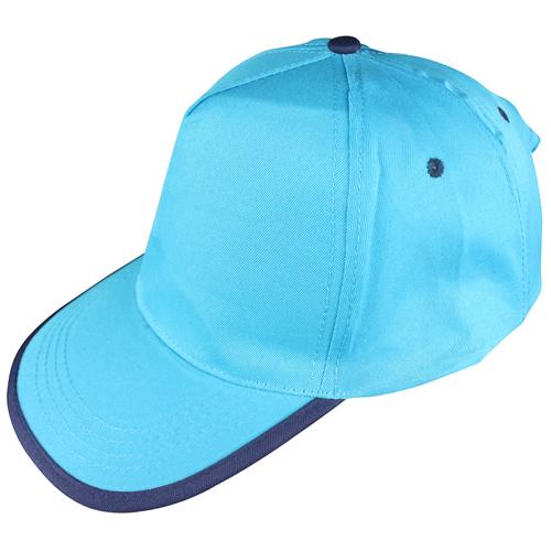 turkuaz-lacivert-biyeli-şapka
