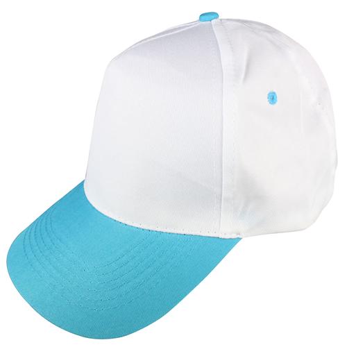 beyaz-turkuaz-siperli-şapka